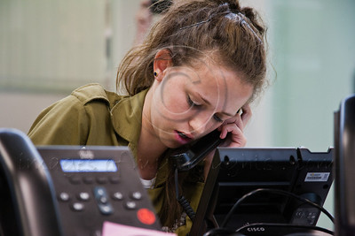 20121119 Ashdod Municipal Command & Control Center in Pillar of Defence