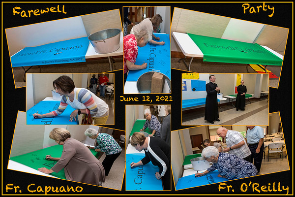 Farewell Event at Saint Joseph Catholic Church