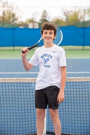 Tennis Boys Team Portraits