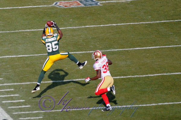 Packers vs. 49ers 2009
