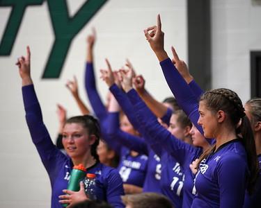 Taylor University Volleyball vs Huntington 9-8-21