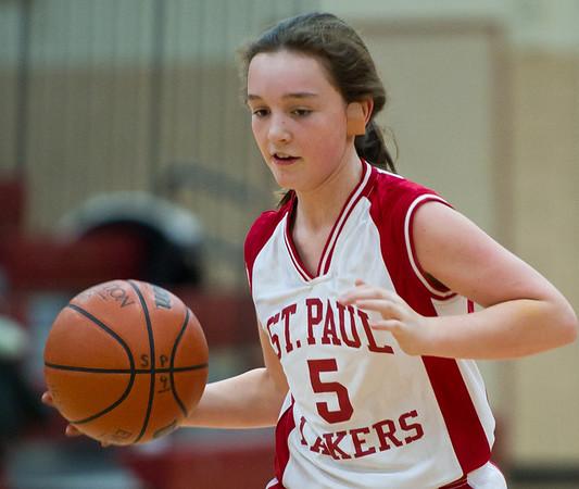 St. Paul Basketball, Girls, 6th, 1-21-12