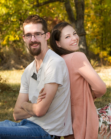 Sean and Lindsey Engagement photos