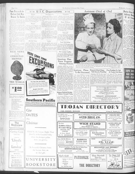 Daily Trojan, Vol. 28, No. 55, December 09, 1936