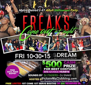 Club Dream 10-30-15 Friday