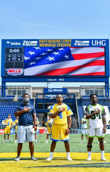 July 22, 2020 Annapolis, MD - Navy-Marine Corps Memorial Stadium New York Lizards vs Connecticut Hammerheads. Photography Credit: Alex McIntyre