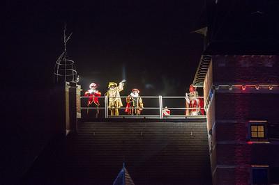 Lichtstoet en Sinterklaas 2016 - Gemeentehuis