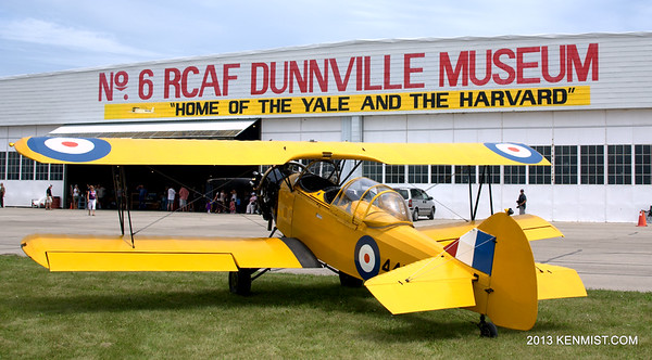 Closing  No. 6 RCAF SFTS Dunnville
