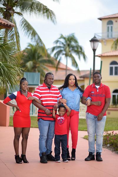 Antoinette Gibson Family