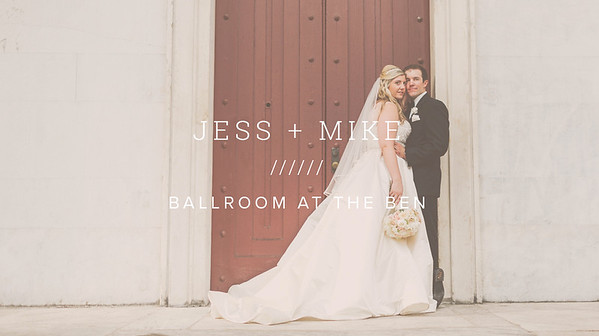 JESS + MIKE ////// BALLROOM AT THE BEN