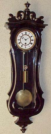 VR-227 - Miniature serpentine Austrian timepiece