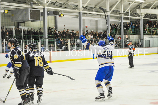 Hamilton College M Hockey v Trinity 1-27-17