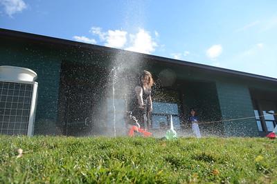 Junior Science Club Water Rocket Launch
