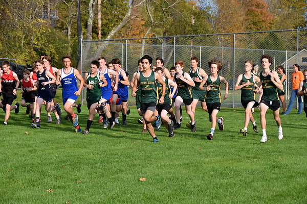 BBA Boys X-C At LTS photos by Gary Baker