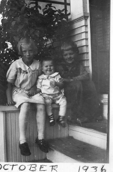 Joyce, Evelyn Jean and Wayne (Bud)