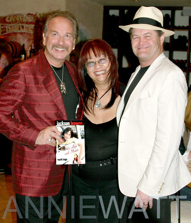 May 24, 2005 Jackson Brown Book Party with Author Mark Bego
