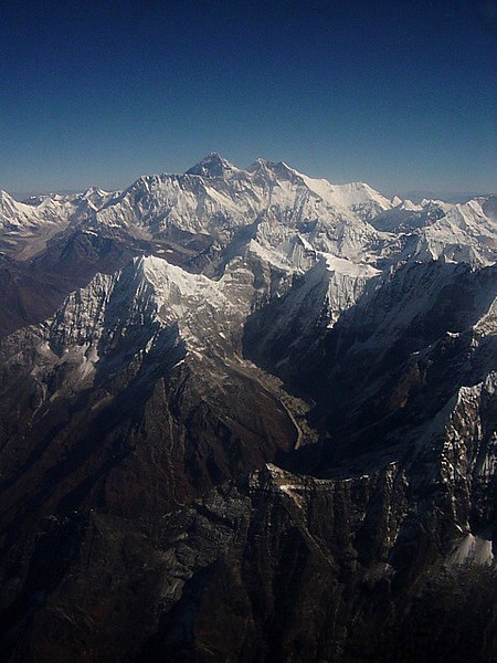 Mt. Everest, from Nepal - Buddha Air