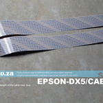 SKU: EPSON-DX5/CABLE, A Set of Two Data Cables for EPSON DX5 Printhead, New Universal Version with Same Cable for Up/Down