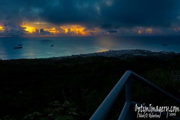 SEPTEMBER 4, 2016: SUNSET FROM TAPACHAU