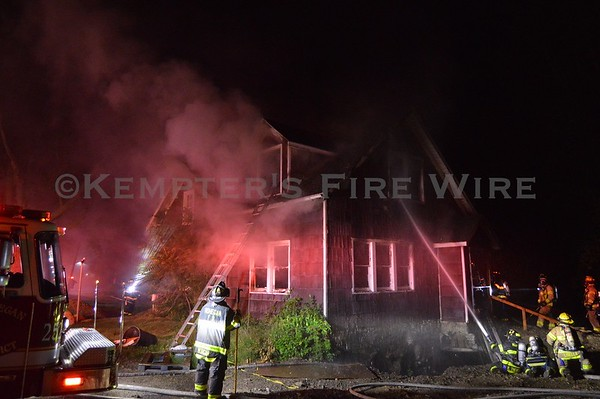 Structure Fire, Lake Mohegan, NY. - Strawberry Rd - June 13th, 2021