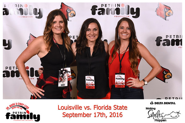 Saturday Sept. 17th, 2016. UofL vs FSU