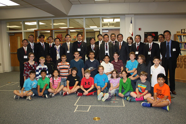Teacher Delegation from Japanese Ministry of Education