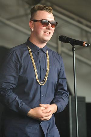 Sam Smith at Latitude Festival 2013 - 21/07/13