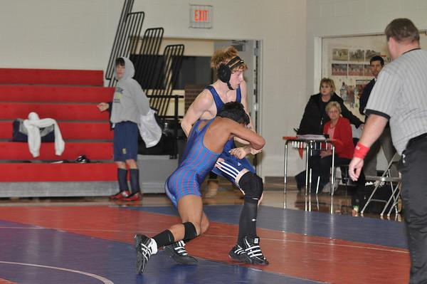 Var Wrestling vs York, 2-4-11