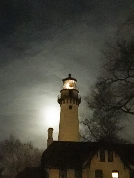 late winter lighthouse