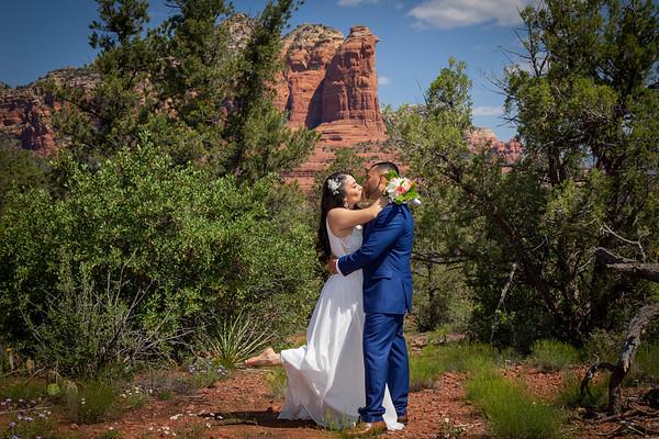 Cynthia & Jose's Sedona Wedding
