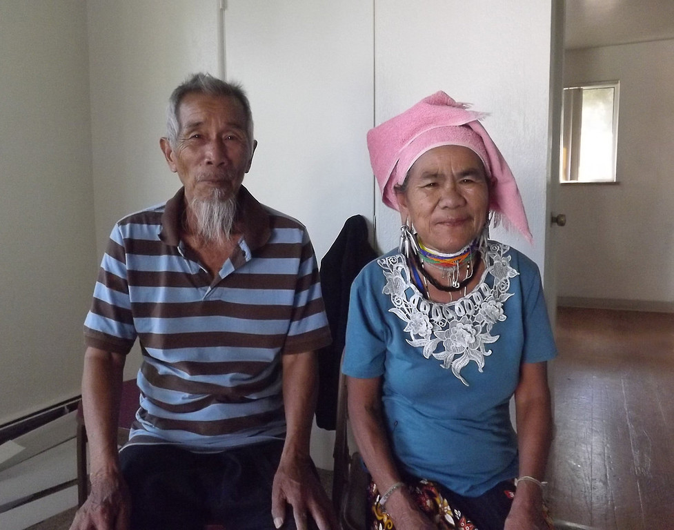 . This photo is about my adopted grandparents. They are not related with us but they now they become a part of my family because we love them so much and they also love us so much and treat us like grandchildren. (Photograph by Mi Meh)