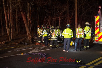 2019.04.07 Brookhaven MVA With Entrap . River Rd near Flower Hill Dr