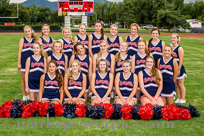 SHS Cheerleaders 2015-16