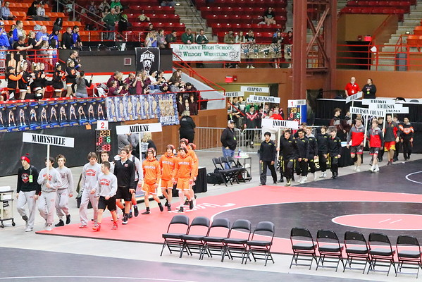BOYS STATE 4A WRESTLING  02.28-29.2020 by Steve