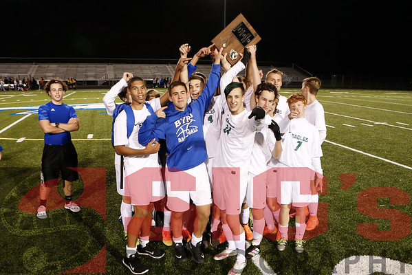 10-25-16 RCB Boys Soccer vs Elkins Regional Final