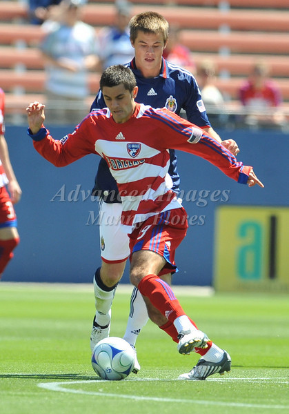 29, March 2009:  FC Dallas defender Blake Wagner #19in action during the soccer game between FC Dallas & Chivas USA at the Pizza Hut Stadium in Frisco,TX. Chivas USA  beat FC Dallas 2-0.Manny Flores/Icon SMI