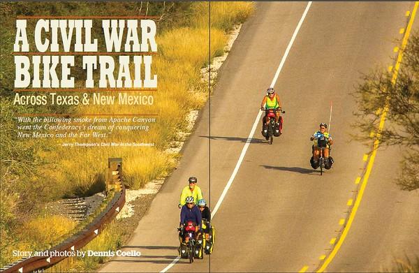 A Civil War Bike Trail - Across Texas & New Mexico