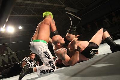 New Gore Order (Mike Graca, Josh Briggs & Triplelicous) vs. JT Dunn, Ace Romero & Sully Banger