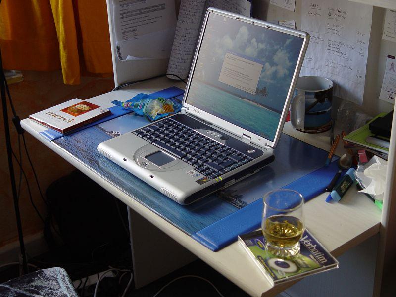 2005-04-11_04590 Das heutige Problemkind...bis auf eine Fehlermeldung wieder am Laufen.