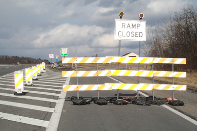 81 On & Off Ramp Closed, McAdoo, Kline Township (3-8-2012)