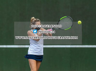 5/12/2021 - Girls Varsity Tennis - Newton North vs Needham