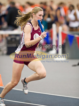 Women's 4 x 400 - 2012 WHAC Indoor Finals