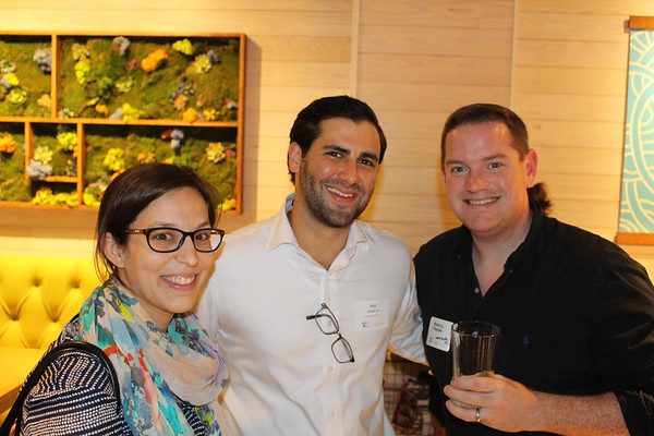 Alumni Networking at Sushi Maki, CG