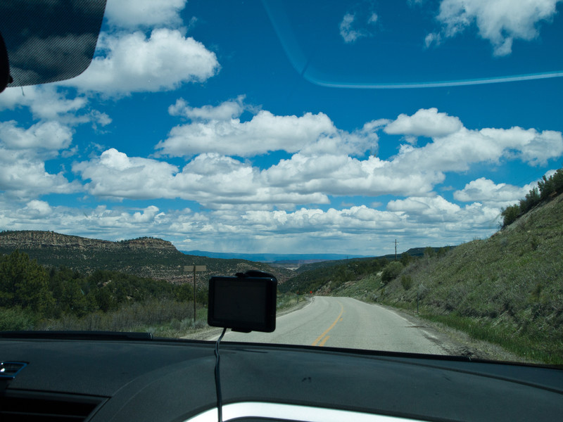 Here we are back on the road again on UT46 heading towards Colorado