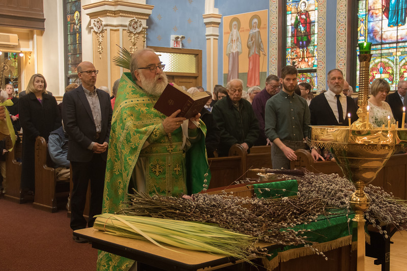 Divine Liturgy for Palm Sunday 2018