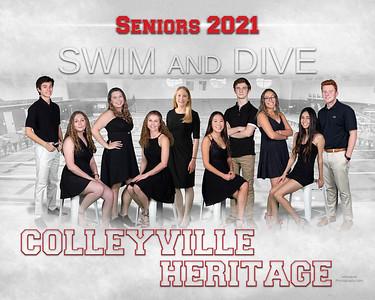 GC Swim & Dive Senior poster 2021