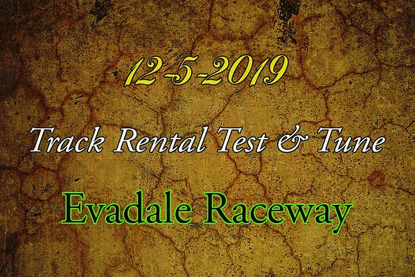 12-5-2019 Evadale Raceway 'Track Rental T & T'