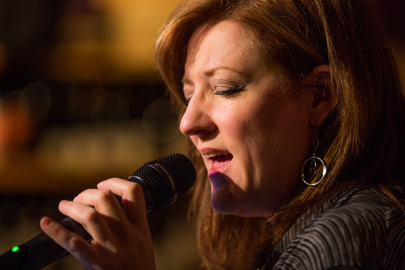 Nancy Erickson, jazz singer, and friends in performance