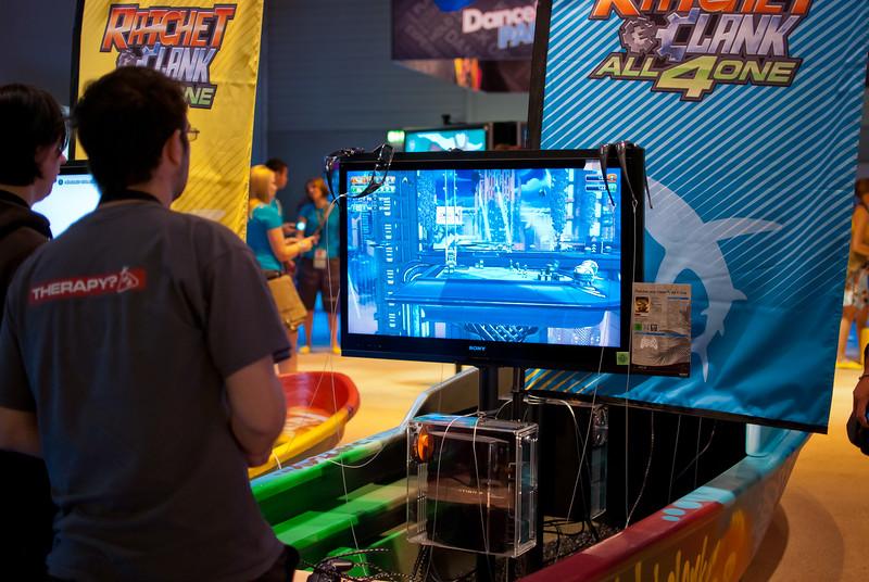 Playstation booth at GamesCom 2011