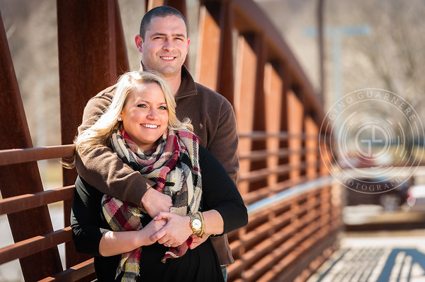 Kayleigh and Brent Engagement by Gino Guarnere